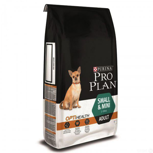 Корм сухой PRO PLAN SMALL MINI ADULT SENSITIVE DIGESTION для взрослых собак мелких и карликовых пород с чувствительным пищеварением  с ягненком 3 кг.