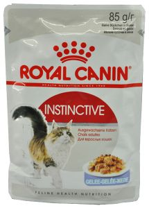 Консервы Royal Canin Instinctive пауч мелкие кусочки в желе для кошек 85 гр