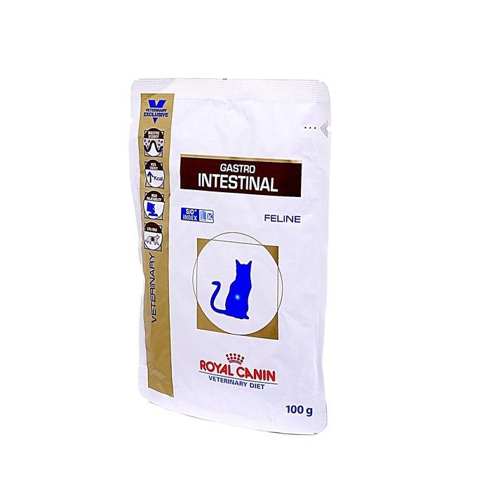 Royal Canin Gastro Intestinal паучи для кошек при лечении ЖКТ,  100 гр