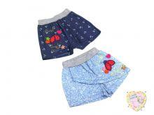 """Шорты-юбка для девочки (100% хлопок) код 01769 """"Мамин Малыш"""" оптом"""