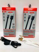 USB кабель ipipoo KP – 1 Black / White
