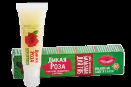 Бальзам для губ «Дикая роза» 15г