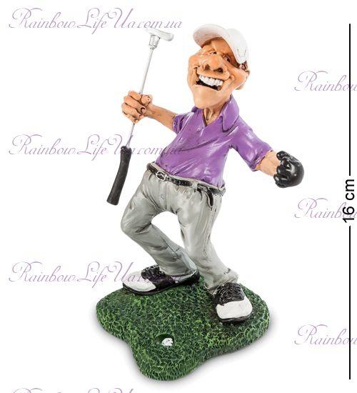 "Фигурка гольфист счастливая лунка ""W.Stratford"""