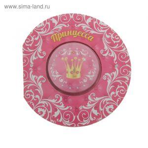 """Прессованное полотенце на открытке """"Collorista"""" Принцесса 28х28 см, хлопок    848281"""