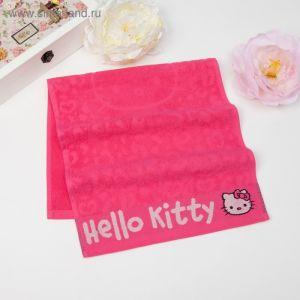 Полотенце детское Hello Kitty 50х90 см, цвет розовый 100% хлопок, 400 г/м?