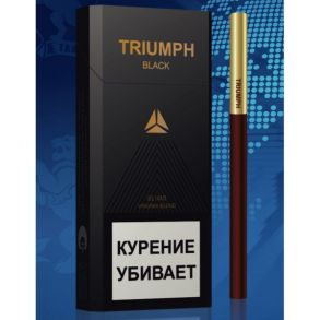 Сигареты Triumph Black Slims
