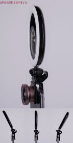 Селфи лампа FST SML-032 черная