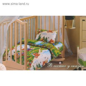 Детское постельное бельё «В гостях у сказки»