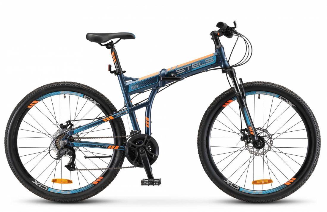 """Велосипед STELS Pilot-950 MD 26""""   19"""" Тёмно-синий 2018"""