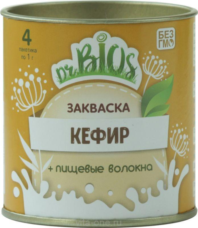 Закваска Кефир Dr.BIOS (Доктор Биос) 4 г