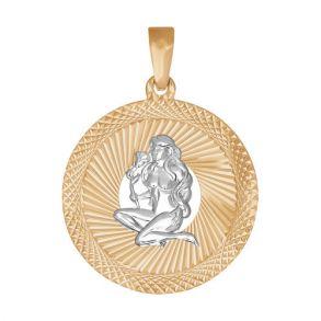 Подвеска «Знак зодиака Дева» с алмазной гранью 032330 SOKOLOV