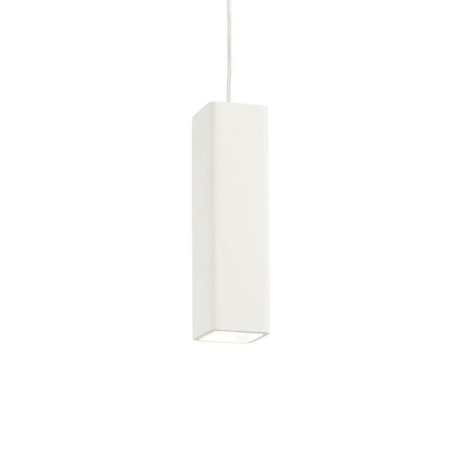 Подвесной светильник Ideal Lux Oak SP1 Square Bianco