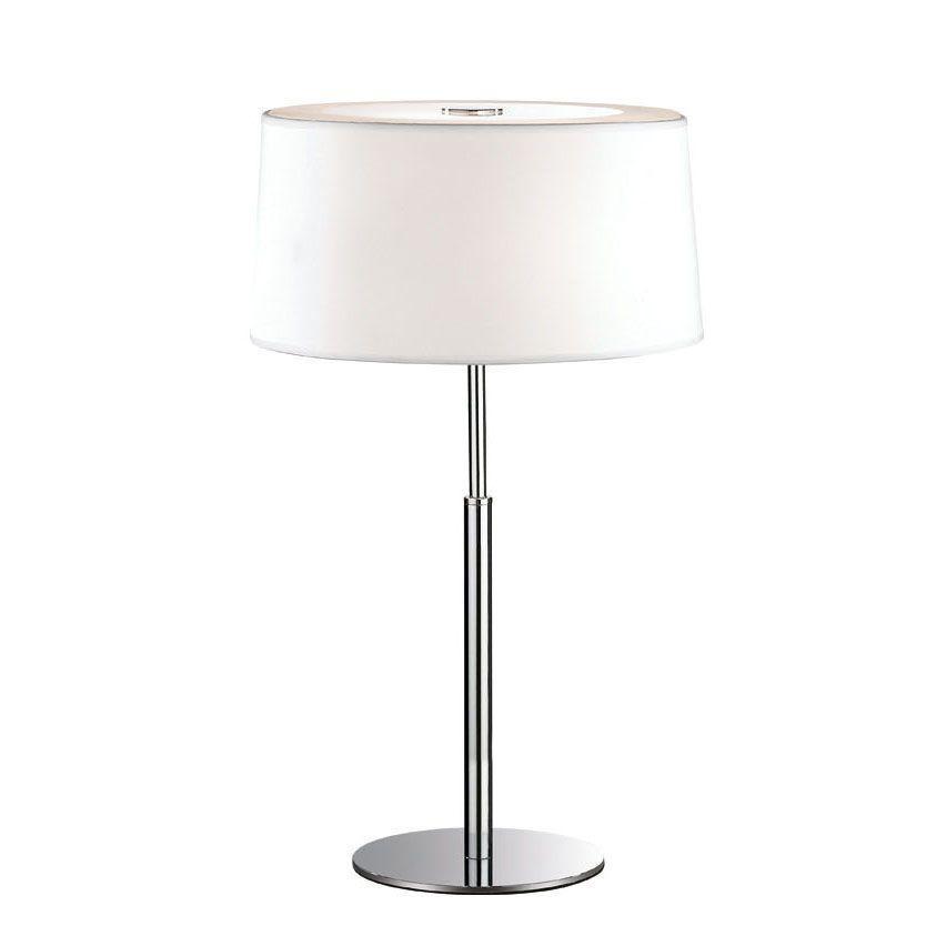 Настольная лампа Ideal Lux Hilton TL2 Bianco