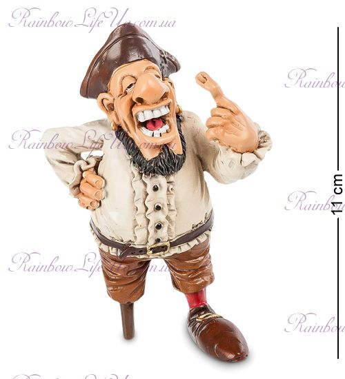 """Фигурка пират одноногий Кортес """"W.Stratford"""""""