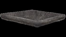 Ступень угловая SDS Keramik Bremen Eckflorentiner Anthrazit 32×32