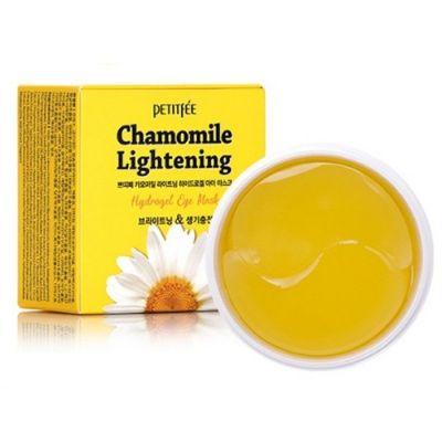 Патчи для глаз с экстрактом ромашки Petitfee Chamomile Lightening Hydrogel Eye Patch 1,4гр*60