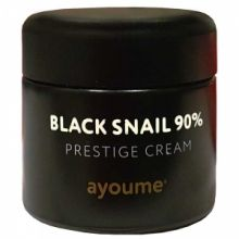 Black Snail Prestige Cream 90% Крем для лица муцином черной улитки 70 мл