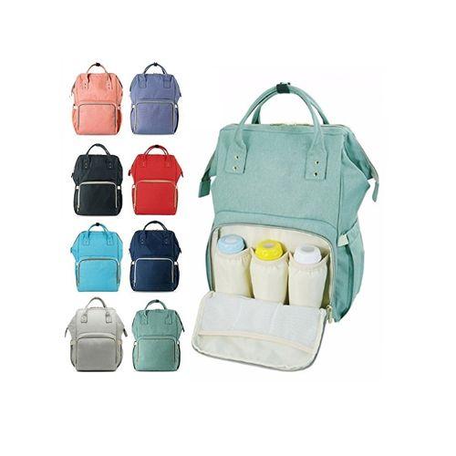 Сумка-рюкзак для мамы Mummy Bag: цвет – сиреневый.