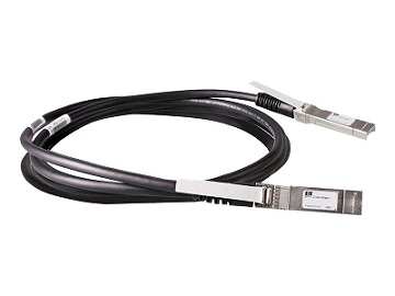 Кабель HPE BladeSystem c-Class 10GbE SFP+ to SFP+ 3m Direct Attach Copper Cable, 487655-B21