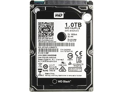 Жесткий диск Western Digital SATA-III 1Tb WD10JPLX Black (7200rpm) 32Mb 2.5, WD10JPLX