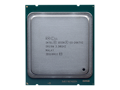 Процессор Intel Xeon E5-2667 v2 (3.3GHz/8-core/25MB/8.0GT-s QPI/130W, DDR3-1866, HT, Turbo2- 3/3/3/3