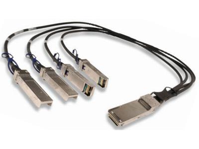 Модуль 40G QSFP-40G-&gt,4xSFP+ DAC, дальность до 5м