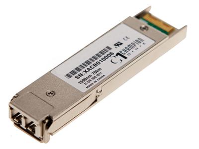 Модуль XFP CWDM оптический, дальность до 70км (23dB), 1550нм