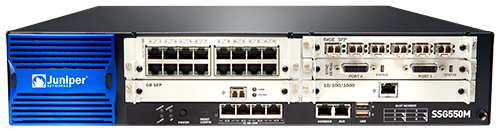 Шлюз безопасности Juniper SSG-550M-SH