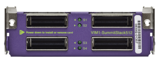 Модуль Extreme Summit VIM1-SummitStack512