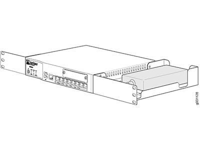 Крепление в стойку Juniper SRX210-RMK