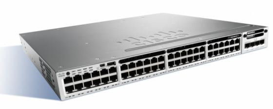 Коммутатор Cisco Catalyst WS-C3850-48U-S