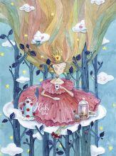 Почтовая открытка Принцесса чаепитий