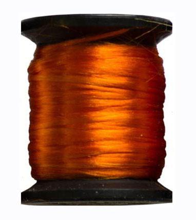 Ацетатный шелк 10м. оранжевый