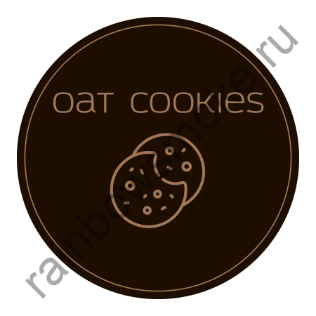 Twelve 100 гр - Oat Cookies (Овсяное Печенье)