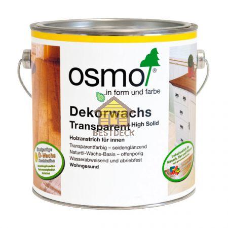 Цветные масла прозрачные Osmo Dekorwachs Transparent