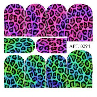 Слайдер-дизайн для ногтей № 0294