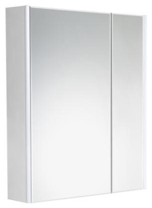 Зеркало-шкаф 80 см Roca Up ZRU9303017 белый глянец