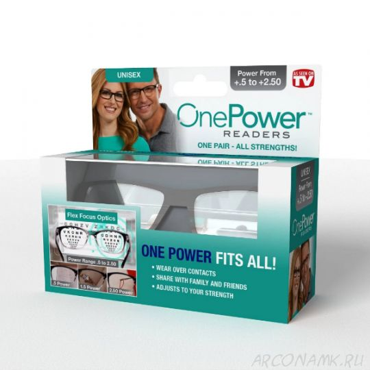Универсальные очки для чтения One Power Readers