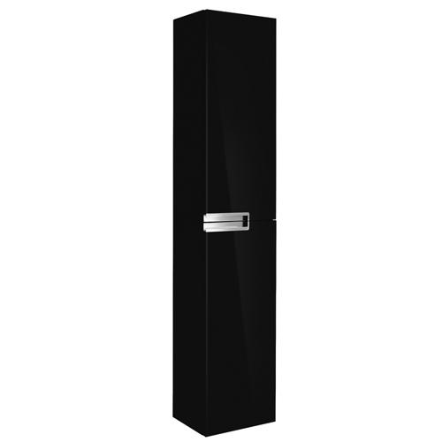 Шкаф-пенал Roca Victoria Nord Black Edition ZRU9000095, черный