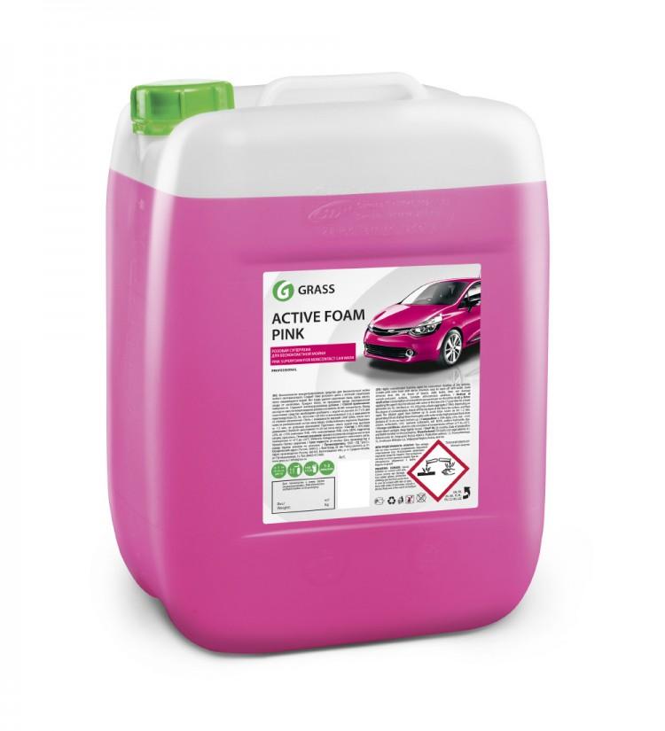 Активная пена «Active Foam Pink» цветная пена GRASS 20л