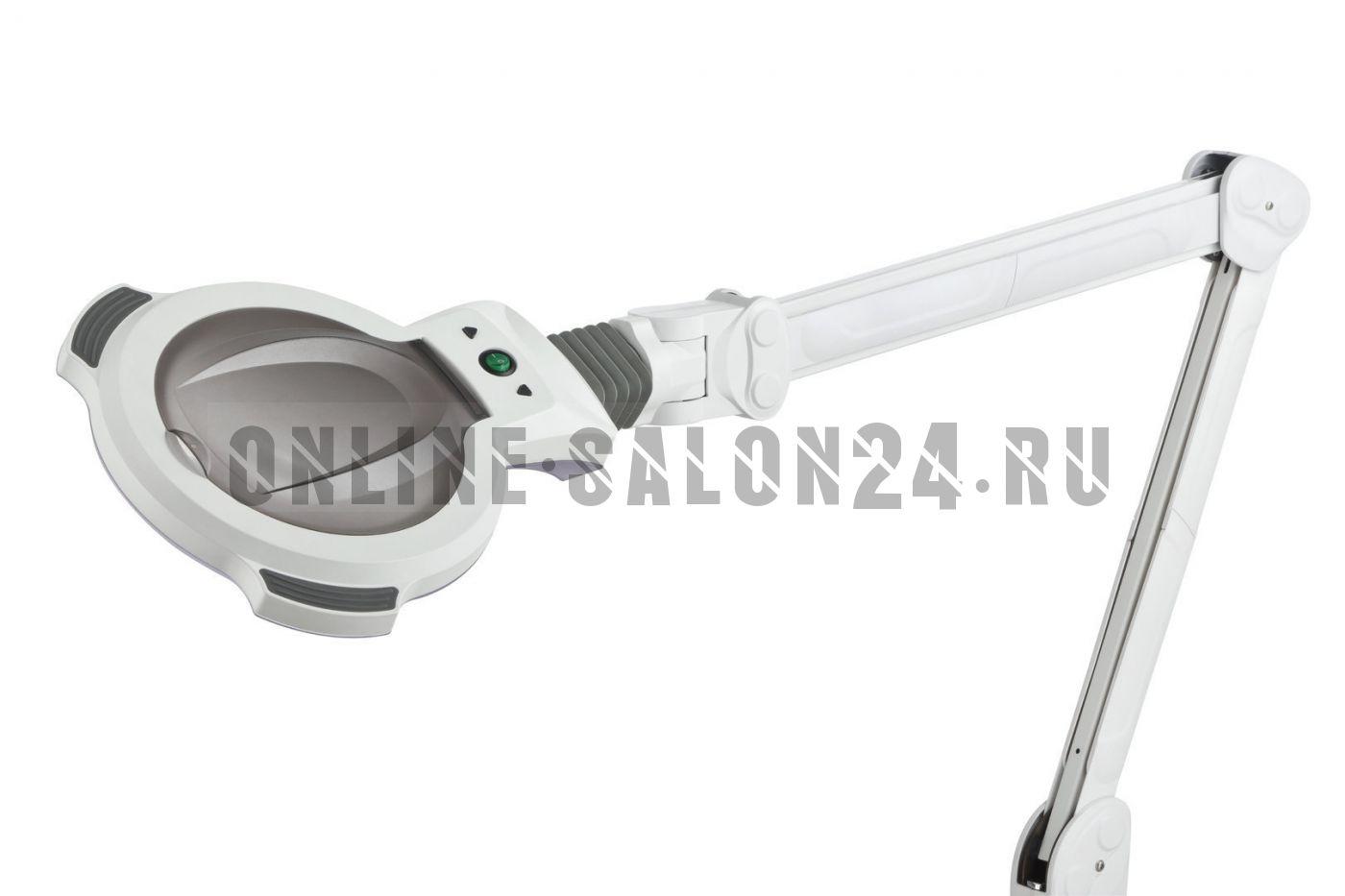Лампа-лупа X06T на струбцине