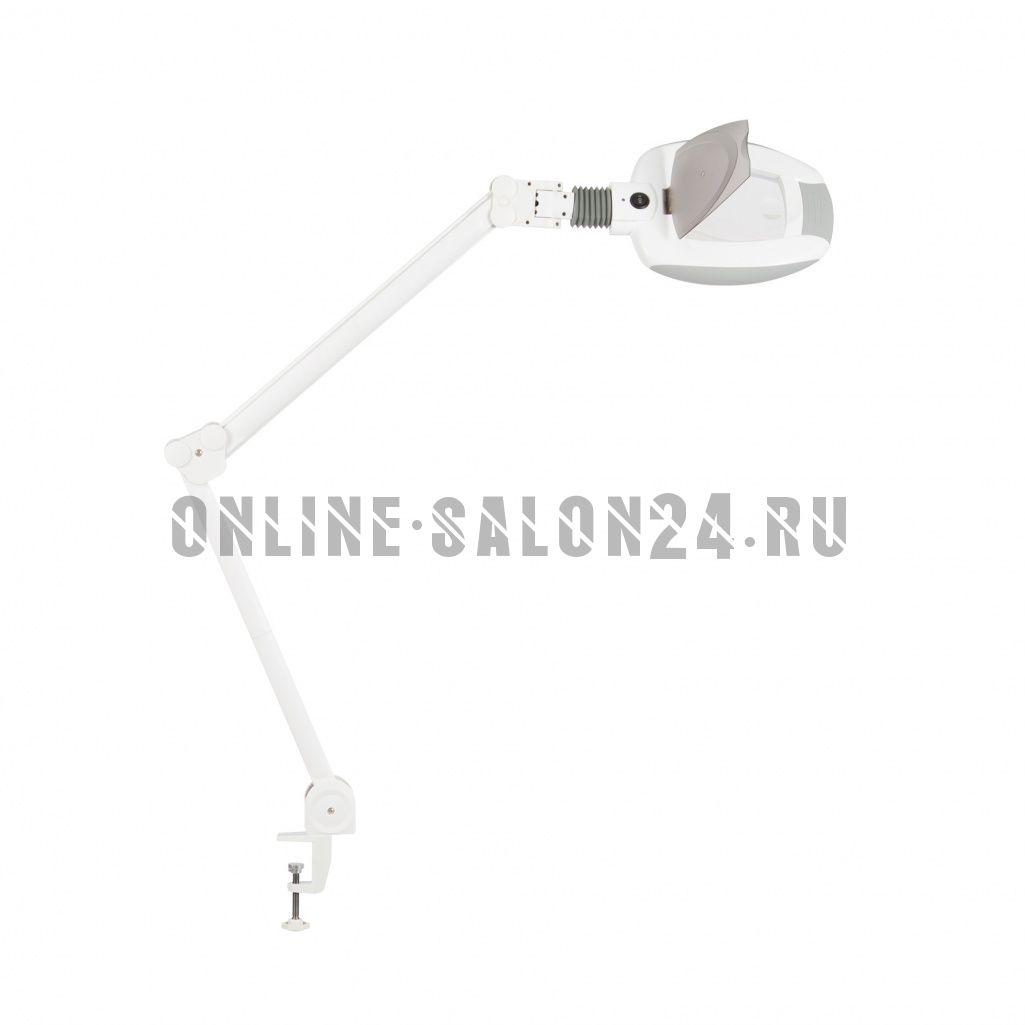 Лампа-лупа X05T на струбцине