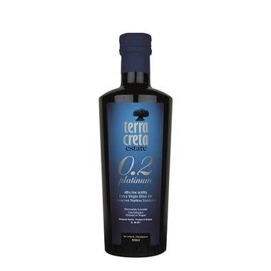 Оливковое масло Terra Creta - 500 мл 0.2 экстра вирджин Estate Platinum