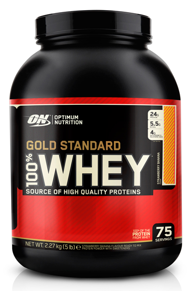 100% WHEY GOLD STANDARD от Optimum Nutrition 2270 гр