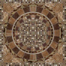 Панно Gres de Aragon Geo Roseton Tierra (из 4 шт) 66*66