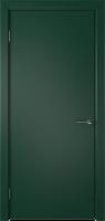 Межкомнатная дверь «Ньюта ДО» зелёная эмаль