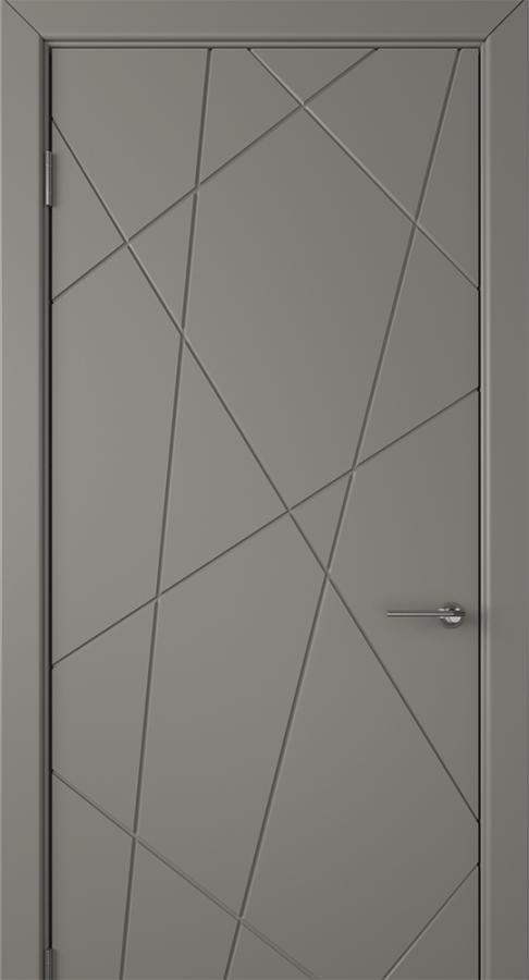 Межкомнатная дверь «Флита ДГ» зелёная тёмно серая