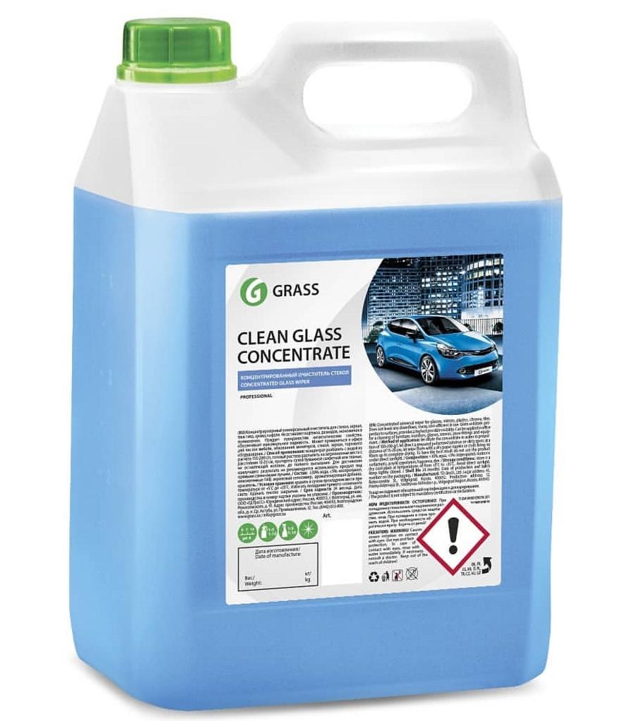 Очиститель стекол «Clean Glass Concentrate» GRASS 5л.