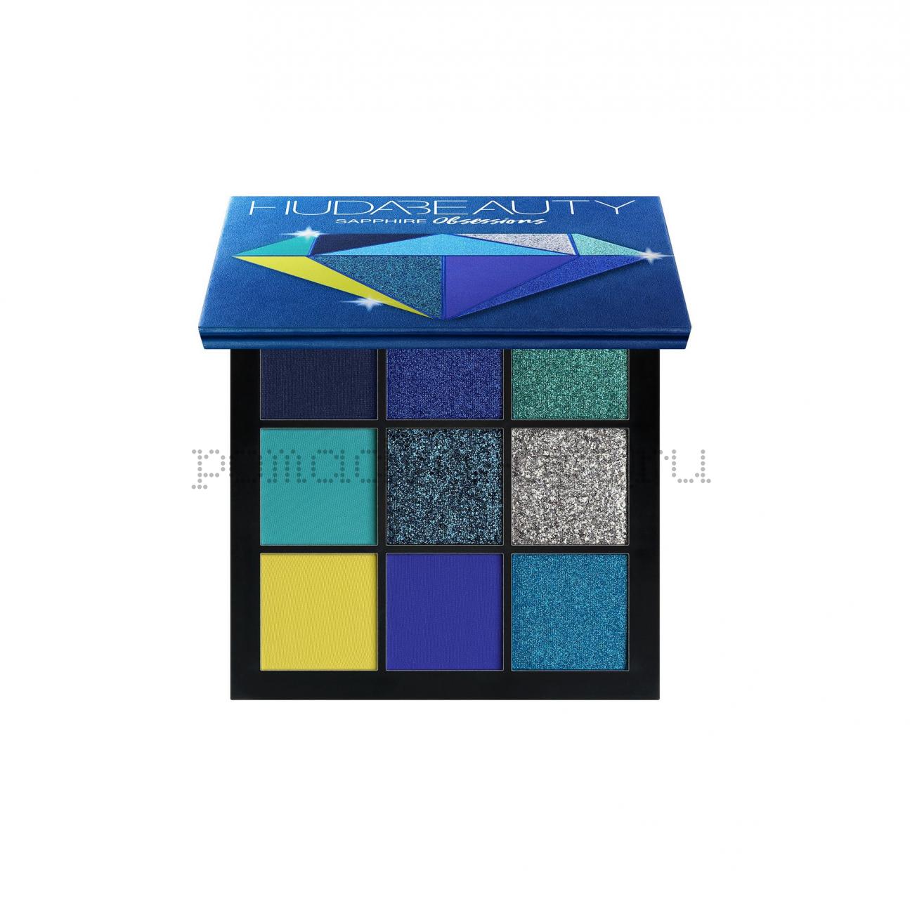 HUDA BEAUTY Палитра теней Obsessions Palette Sapphire