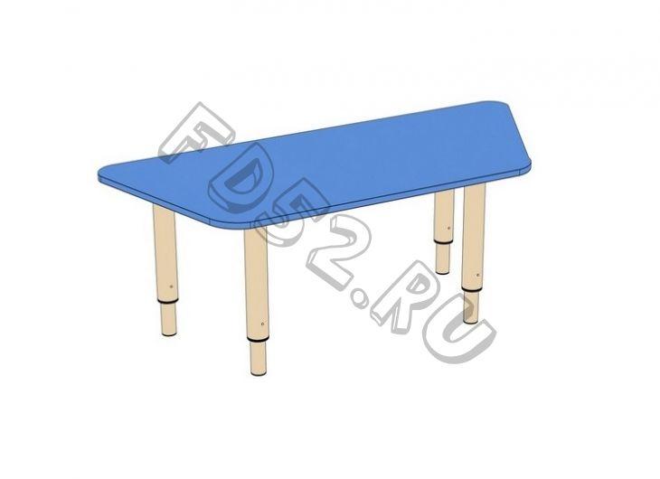 Стол Трапеция на регулируемых ножках мод. 8 (1100*520*500)